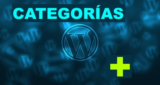 como crear categorias wordpress