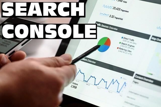 añadir una web en google search