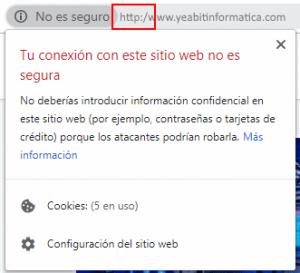 tu conexion con este sitio web no es segura wordpress