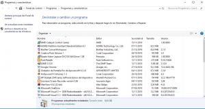 desinstalar programas en windows 10 2019