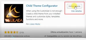 crear un child theme en wordpress 2019