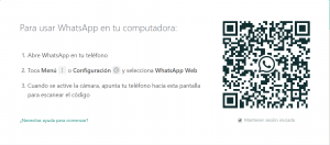 como usar whatsapp en pc