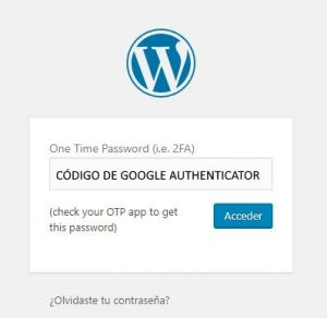 proteger acceso wordpress