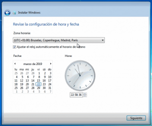 como se instala windows 7