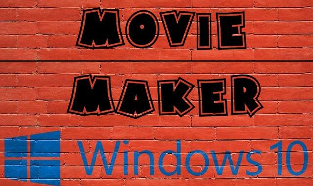movie maker windows 10