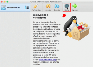 virtual box en macbook