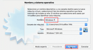 windows 7 virtual box mac