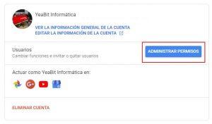 añadir o eliminar usuarios en youtube