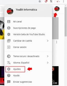 administrar usuarios colaboradores youtube
