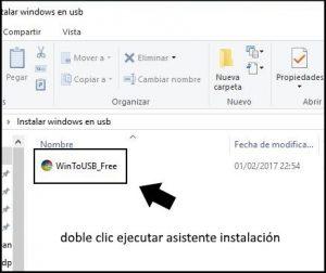 instalar windows en disco usb