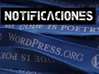 quitar notificaciones wordpress