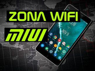 compartir wifi xiaomi redmi note 4