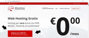 hosting y dominio gratis wordpress