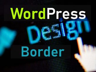 añadir marco en imagenes wordpress