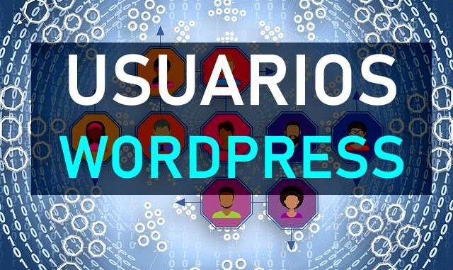 tutorial usuarios wordpress español 2019
