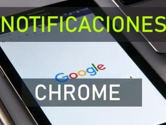 quitar mensajes google chrome