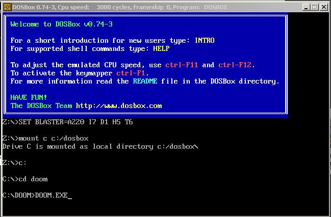 instalar doom 1 windows 10