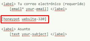 plugin spam contact form 7 honeypot